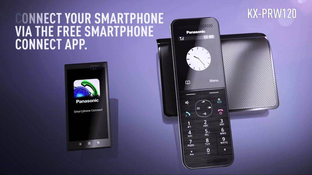 Bezdrátové telefony - servis prodej a instalace - Panasonic KX-PRW120